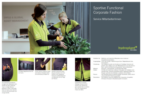 Sportive Functional Corporate Fashion
